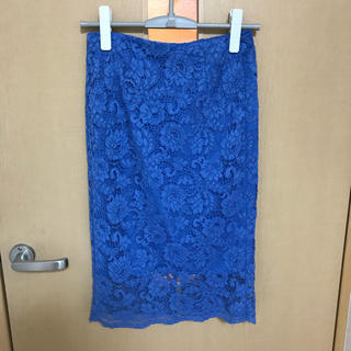 ジーユー(GU)のGU ♡ レースタイトスカート(ひざ丈スカート)