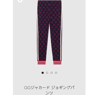 Gucci - 国内直営店購入 希少品 グッチ ggジャカードパンツ gg柄スウェットパンツ/M