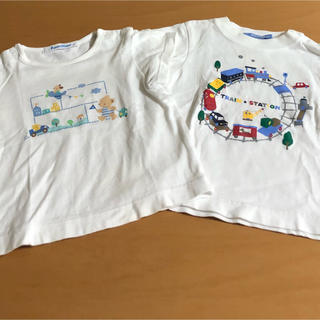 ファミリア(familiar)の80㎝ ファミリア半袖シャツ2枚セット(Tシャツ)