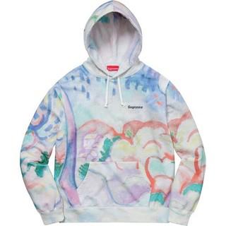 シュプリーム(Supreme)のS Supreme Landscape Hooded Sweatshirt(パーカー)