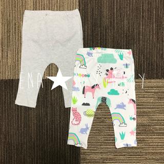 ネクスト(NEXT)の⑤ ♡SALE♡ 森の刺繍レギンス 3-6m(パンツ)