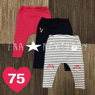 ネクスト(NEXT)の⑥ ♡SALE♡ 森の刺繍レギンス 6-9m(パンツ)