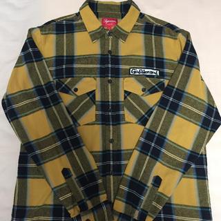 シュプリーム(Supreme)の送料込 中古 L God Bless Plaid Flannel Shirt(シャツ)