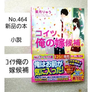 No.464【新品の本 小説】【コイツ俺の嫁候補】送料無料(文学/小説)