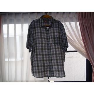 コンバース(CONVERSE)のコンバースのドレスシャツ(4L)グリーンチェック(シャツ)