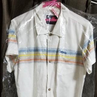 クルー(CRU)のCRUサーフ ボーダーラインシャツ L クリーニング済み(シャツ)
