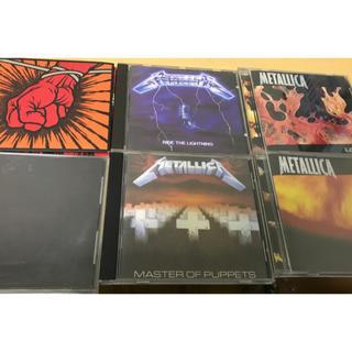 Metallica メタリカ まとめ売り CD アルバム 6枚(ポップス/ロック(洋楽))