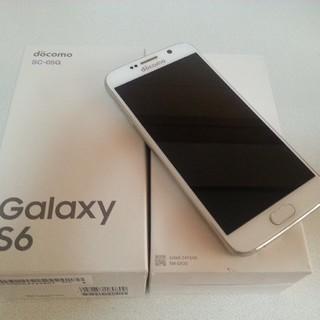 サムスン(SAMSUNG)のDoCoMo  Galaxy  S6  ✩୭⋆*✦  超美品(スマートフォン本体)