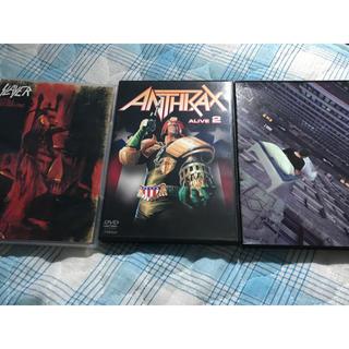 MEGADETH SLAYER ANTHRAX DVDセット(ミュージック)