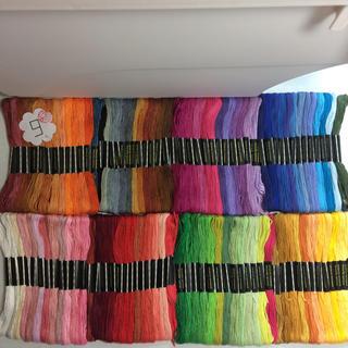 刺繍糸100束セット  25番/8m