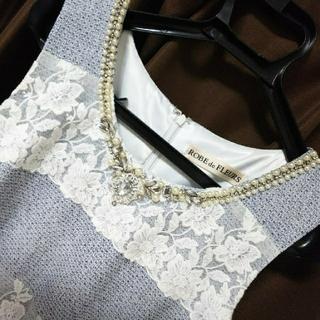 アン(an)のROBE de FLEURS ドレス キャバ(ナイトドレス)