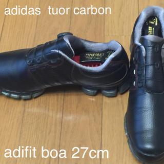 アディダス(adidas)のアディダス ツアーカーボンBOA27cm(シューズ)