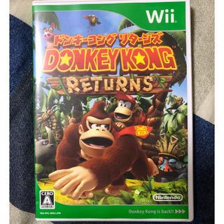 ウィー(Wii)のドンキーコング リターンズ(家庭用ゲームソフト)