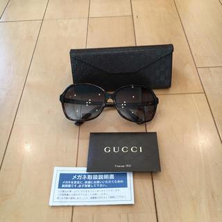 Gucci - ★GUCCI サングラス レディース 茶系 ★