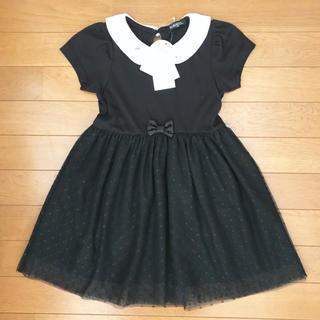 シマムラ(しまむら)の女児ワンピース 120 黒(ワンピース)
