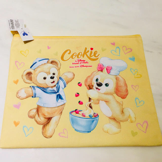 Disney - 【日本未発売】香港ディズニーランド限定クッキーA4ポーチ