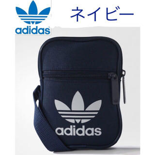 adidas - 早いもの勝ち‼️新品 アディダス オリジナルス ショルダーバッグ 紺 男女兼用