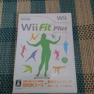 ウィー(Wii)のWii WiiFit Plus (家庭用ゲームソフト)