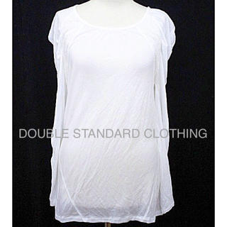 DOUBLE STANDARD CLOTHING - 新品タグ付 DOUBLE STANDARD CLOTHING レースカットソー