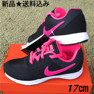 NIKE - NIKE キッズ スニーカー 17㎝  DOWNSHIFTER 7  PS