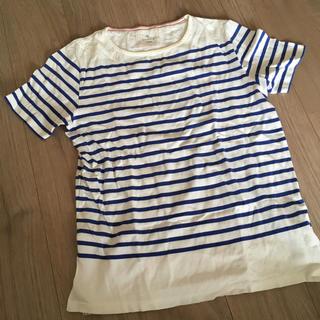 エディフィス(EDIFICE)のエディフィス ボーダーカットソー(Tシャツ/カットソー(半袖/袖なし))