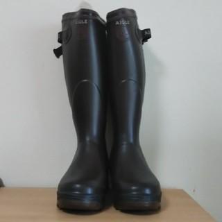 エーグル(AIGLE)のAIGLE ブーツ 新品・未使用 39 24.5(レインブーツ/長靴)