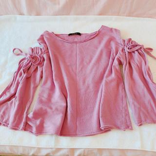 w closet - ★ W Closet ピンク 肩だし ❤︎トップス ★