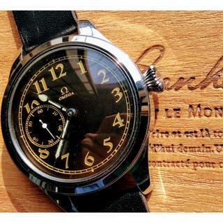 オメガ(OMEGA)の《一点物》オメガ★アンティーク 中古バックスケルトンゴールド腕時計1920年代(腕時計(アナログ))