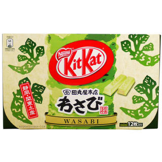 Nestle - キットカット 静岡・関東土産 わさび