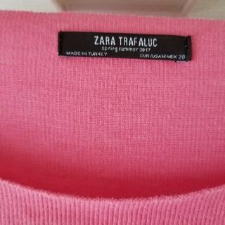 ザラ(ZARA)のザラ ピンクニット(ニット/セーター)