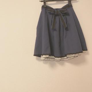 アストリアオディール(ASTORIA ODIER)のアストリアオディール♡ウエストリボンスカート(ひざ丈スカート)