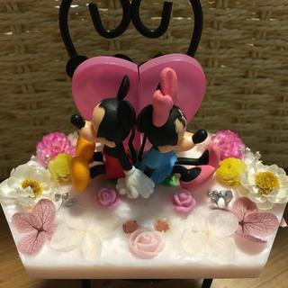 ミッキーミニーのアロマワックス置き型サシェ(アロマ/キャンドル)