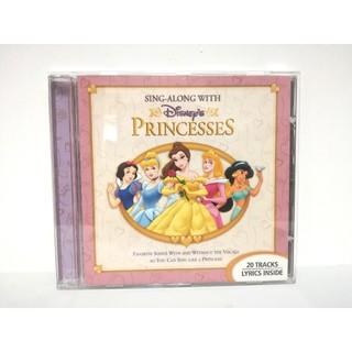 Disney - 【美品】ディズニー プリンセス コレクション『シング・ア・ロング』廃盤CD/希少