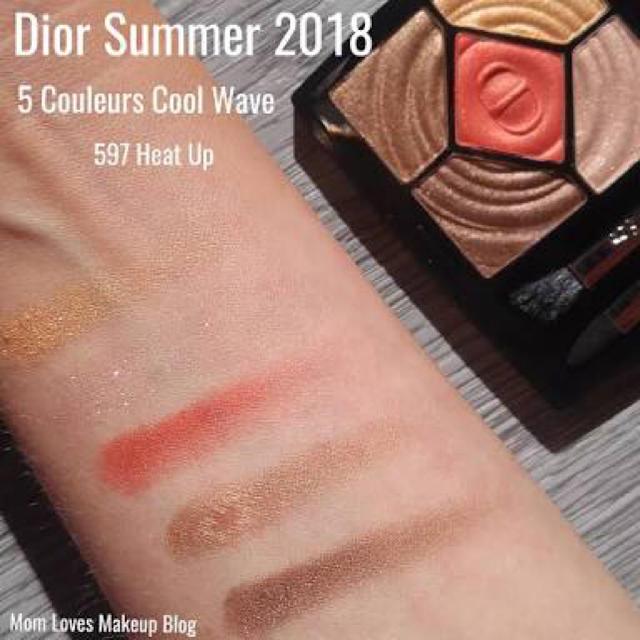 huge discount 02915 9ec78 【限定】Dior ディオール 2018夏 サンククルール 597 ヒートアップ