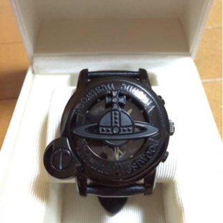 ヴィヴィアンウエストウッド(Vivienne Westwood)のヴィヴィアン ウエストウッド CAGE Mウォッチ ブラック 完動品(腕時計(アナログ))
