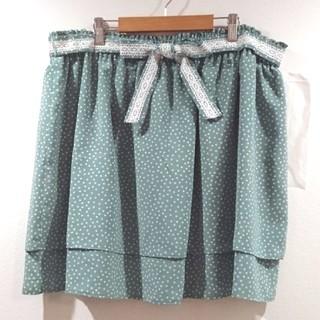 【新品】水玉スカート(ミニスカート)