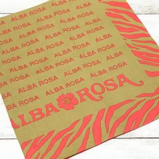 アルバローザ(ALBA ROSA)の美品☺︎︎ALBA ROSA アルバローザ ハンカチ スカーフ バンダナ(バンダナ/スカーフ)