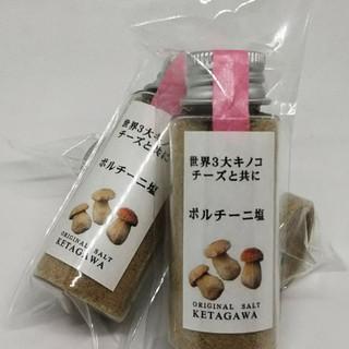 【送料込み】【無添加】ポルチーニ塩 持ち運び便利ミニボトル(調味料)