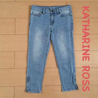 キャサリンロス(KATHARINE ROSS)のKATHARINE ROSS*8部丈ジーンズ(デニム/ジーンズ)