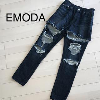 EMODA - エモダ ダメージデニム EMODA