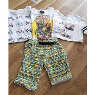 ジーユー(GU)のTシャツ ハーフパンツ GU ZARAボーイ しまむら ジャンクストアー GAP(Tシャツ/カットソー)