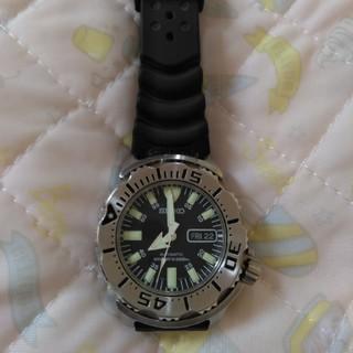 セイコー(SEIKO)のSEIKO 腕時計 ラバー 故障 難あり ジャンク品(腕時計(アナログ))