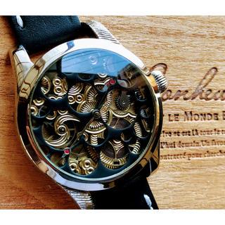 オメガ(OMEGA)の《一点物》オメガOMEGAヴィンテージ中古アンティーク腕時計スケルトン1910年(腕時計(アナログ))
