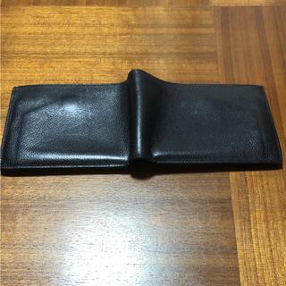 エルメス(Hermes)のエルメス 2つ折り財布 ブラック K刻印(折り財布)