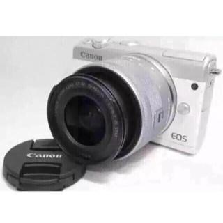キヤノン(Canon)の☆大人気☆Canon M100 レンズキット おまけ付き(ミラーレス一眼)