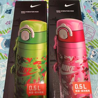 ナイキ(NIKE)の新品未使用 サーモス  ステンレス水筒 子供用水筒 保冷 kids ナイキ(弁当用品)