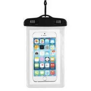 TA224スマホ防水ケースiphone7 iphone8 iphoneX 透明(チャーム)