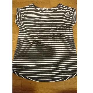 アンティローザ(Auntie Rosa)のアンティローザ【M】ボーダーTシャツ(Tシャツ/カットソー(半袖/袖なし))