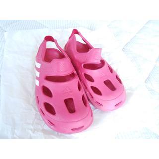 アディダス(adidas)の夏セール❣adidas サンダルvarisolK 19cm(でも結構大きめ)(サンダル)