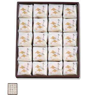 銘菓!千鳥屋、千鳥饅頭、本千鳥、20個、和菓子、菓子、饅頭